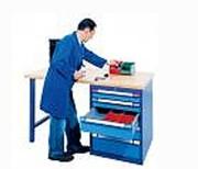 Etablis pour électroniciens - Capacité de charge des tiroirs : 40 kg