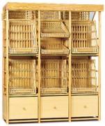 etag re baguettes en osier dimensions l x p x h cm 129 x 60 x 220 189 x 60 x 220. Black Bedroom Furniture Sets. Home Design Ideas