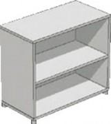 Etagère a une tablette - Dimensions (L x P x H): 80 x 41 x 70 cm