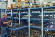 Étagère extensible lourde charge - Capacité de charge : 1000 kg / Extension