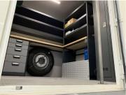 Étagères pour aménagement intérieur d'un véhicule utilitaire - Palette complète de services d'aménagement