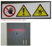 Étiquetage de sécurité