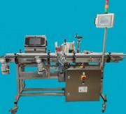 Étiqueteuse automatique à convoyeur à bande sur-mesure - Disponible en deux versions : Inox ou Alu
