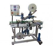 Étiqueteuse industrielle modulable  - Dépose d'étiquettes adhésives sur tous types de produits