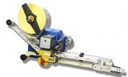 Étiqueteuse poseuse industrielle - Vitesse de distribution : jusqu'à 20 m par minute - Largeur des étiquettes : jusqu'à 130 mm