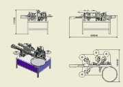 Etiqueteuse tous supports - Machine à étiqueter pour supports plats et cylindriques. réf : NINON MIX SIDE