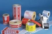 Etiquette adhésive emballage - Dimensions (mm) : De 40 x 105 à 47 x 200