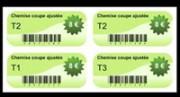 Étiquette adhésive rayonnage - Étiquette adhésive pour le rayonnage