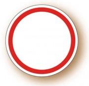 Etiquette adhésive ronde