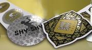 Étiquette autocollante métallisée - Pour la logistique, l'identification