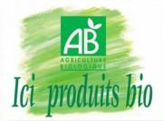 Etiquette bio pour fruits et légumes