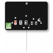 Etiquette boucherie bio - Étiquette BIO - Pique inox - Neutre ou à texte