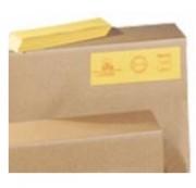 Étiquette carton - Dimensions (Lxl) mm : 120 x 80