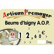 Etiquette crémerie fromagerie - Dimensions : 10.5 x 7cm
