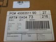Étiquette d'identification industrielle -  Étiquette à code barre industrielle