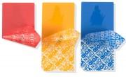 Etiquette de sécurité polyester - Dimension (mm) : 20 x 60 - 40 x 85