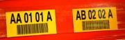 Étiquette de signalisation sur longerons - Sur longerons et/ou emplacement palettes