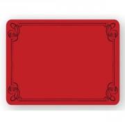 Etiquette décor liséré pour commerce - Dimensions (L x l) cm : 8 x 6