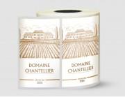 Étiquette écologique - Papier canne fibre - Adhésif permanent acrylique base eau