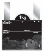 Étiquette grandes pattes pour fruits et légumes - Paquet de 10