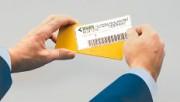 Etiquette magnétique en papier 130x50 mm - Réf. EP 204