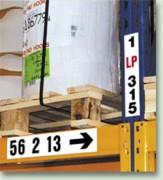 Etiquette magnétique signalisation - Pour stockage , véhicules , armoires métalliques