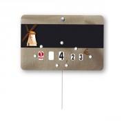 Étiquette moulin pour boulangeries - Vendu par paquet de 10