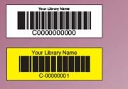 Etiquette ouvrage - Pour bibliothèque