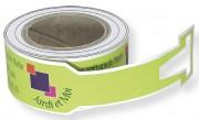 Étiquette papier d'identification - Papier indéchirable - Couleur mat