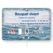Étiquette pique prix poissonneries