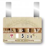 Etiquette pour boulangeries à roulettes prix - Paquet de 10