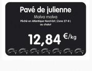 Etiquette pour poissonnerie noire - Paquet de 10 ou Unité - Pique inox - sans roulettes