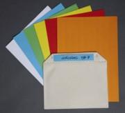 Étiquette prédécoupée pour pochette magnétique - Chaque feuille comporte 18 étiquettes
