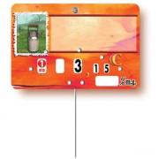 Etiquette prix pour crémerie - Vendue à l'unité ou par paquet de 10 - Pique inox