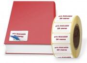 Étiquette rectificative opaque - Papier couché blanc - Opaque - Adhésif permanent acrylique base eau
