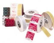 Étiquette synthétique en bobine - Nombreux formats en stock