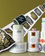 Etiquette vetement personnalisée - Etiquette type badge en tissu à coller sur vêtement et étiquette de prix pour commerce de vêtements