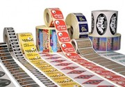 Etiquettes adhésives en rouleaux - Type d'adhésif : Permanent - Enlevable - Lavable - Congélation