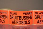 Étiquettes adhésives logistique - Étiquette de propriété identification des palettes