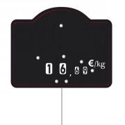 Etiquettes boucheries à roulettes - Dimensions : 12 x 9.5 cm