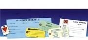Etiquettes Carton