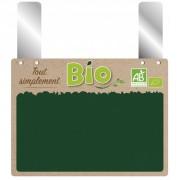 Étiquettes de prix de produits bio - Paquet de 10 - Grandes pattes - Neutre