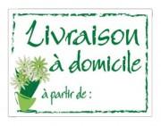 Etiquettes pancartes pour fleuristes - Dimensions (cm) : 20 x 15