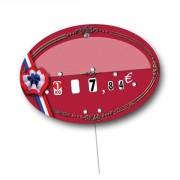 Etiquettes pour boucheries à 4 roulettes prix - Dimensions : 13.5 x 9.5 cm