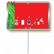 Etiquettes pour boucheries à roulettes - Dimensions : 12 x 8 cm
