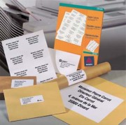 Etiquettes pour imprimante