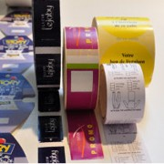 Etiquettes pour industrie textile - De ligne - Directionnelles - Anti-démarque - Cavalier