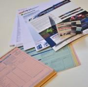 Etiquettes pour secteur tertiaire - Type d'étiquettes : VOID - RFID - Immatriculation - Sécurité