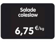 Étiquettes pour tous commerces PVC - Dimensions : 8x6 - 10,5x7 - 12x8 cm - PVC - pique inox