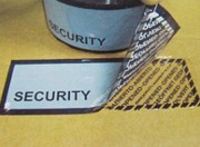 Etiquettes scellés de sécurité - Etiquettes de sécurité, En rouleaux ou plaques